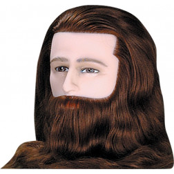 Deluxe Male Mannequin with Beard
