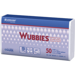 "24"" x 12"" Wubbies - 50 Pcs"