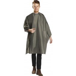 Grey Deluxe Cutting Cape 360-SN-GYC