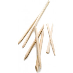 "7"" Handsdown Bevelled Birchwood Sticks (144/Bag)"