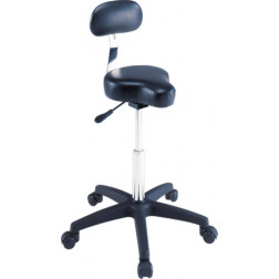 Black Bicycle Seat Stool