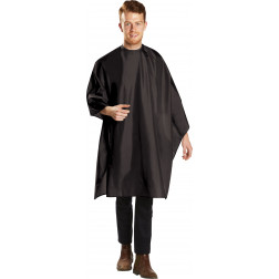 Deluxe Black Cutting Cape #BES360SNBKUCC