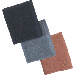 "16"" x 27"" Premium Grey Bleachproof and Colour Safe Towels - Bag of 12"