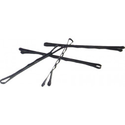 "Black Mini Bobby Pins (1 5/8"") - 100/container"