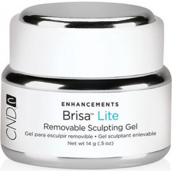 CND - Brisa Lite Removable Sculpting Gel Pure White Opaque 14g / 0.5oz