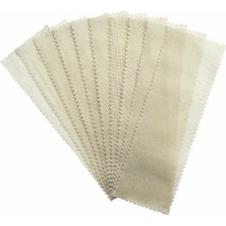 Large Muslin Epilating Strips 100/bag