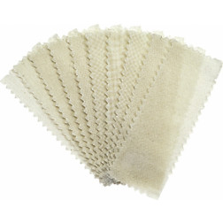 Small Muslin Epilating Strips 100/bag
