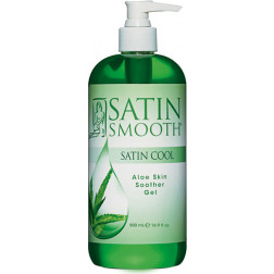 Satin Smooth Cool Aloe Vera Skin Soother 16 oz.