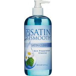 Satin Smooth Cleanser Skin Preparation Cleanser 16 oz.