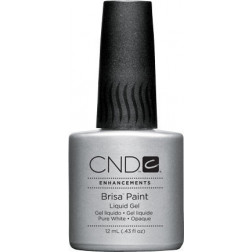 CND - Brisa Paint - Pure White Opaque Sculpting Gel 12.5ml