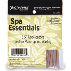 "3.5"" (9cm) Wood Applicators Ideal for Make-up and Waxing - Bag of 100"