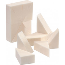 Foam Make-Up Wedges (24/bag)
