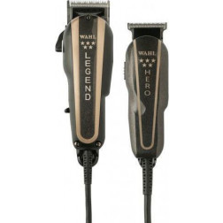 5 Star Barber Combo Premium Wide-Range Fade Clipper & T-Blade Trimmer #56272