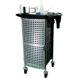 Foldable and Lockable 6 Drawer Trolley #FTRLCG34BK