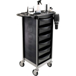 6 Drawer Salon Trolley #FTRLCG4BK