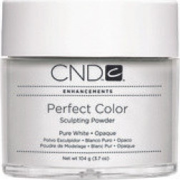 CND - Perfect Color Powder Pure White Opaque 104g