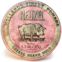 Pink Pomade Heavy Hold Grease Pomade 1.3oz