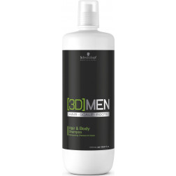 [3D]Men - Hair and Body Shampoo - 1 Litre