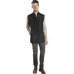 Le Pro - One Size Unisex Zippered Vest with Mesh Back #320C