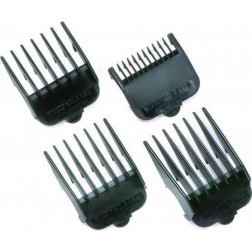Wahl Professional - Black Clipper Guides - Set of 4