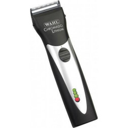 Wahl Professional - Black Lithium Chromado Cord/Cordless Clipper with 6 Guides