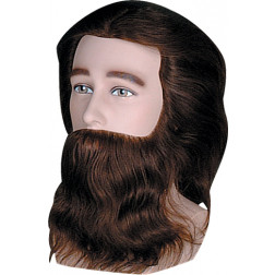 Dannyco - Premium Male Competition Mannequin with Shoulders and Beard #926C