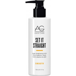 AG Hair - Smooth Set It Straight Argan Straightening Lotion 5oz