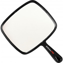 BaByliss Pro - Large Black Square Hand Mirror