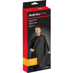 BaByliss Pro - Black Deluxe Extra-Large Cutting Cape ##BES360XLBKUCC