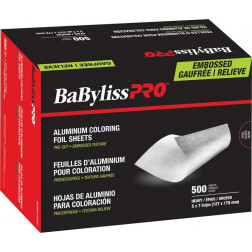 "BaByliss Pro - Rough Texture Pre-Cut Foil Sheets Heavy 5"" x 7"""