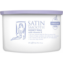 Satin Smooth - Honey Wax with Vitamin E #SSW14G