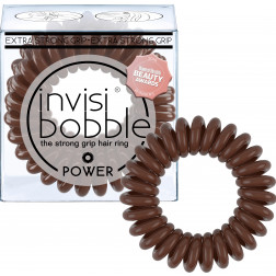 Invisibobble - POWER Extra Strong Grip Hair Ring - Pretzel Brown