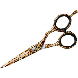 "Jaguar - 5 1/2"" Offset Gold Line ""Wildcat"" Fashion Scissors #21155-9WCC"