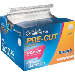 "Dannyco - Pop-Up Pre-Cut Foil Sheets Light 5"" x 10.75"" #ROF1075POPNC"