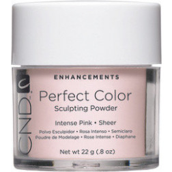 CND - Perfect Color Powder Intense Pink Sheer 22g