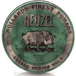 Reuzel - Green Medium Hold Grease Pomade 4oz