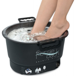 Footsie Bath - Footsiebath Black Kit Professional Pedicure Spa