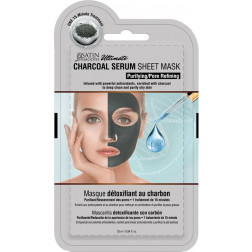 Satin Smooth - Charcoal Serum Mask #SSKDMK