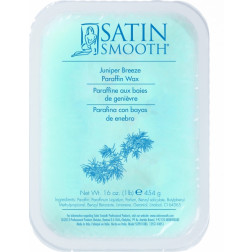 Satin Smooth - Juniper Breeze Paraffin Wax with Vitamin E