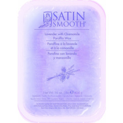 Satin Smooth - Lavender and Chamomile Paraffin Wax with Vitamin E