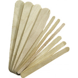Silkline - Large Wood Applicators - Bag of 100