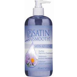 Satin Smooth - Azulene Pre- and Post-Depilatory Treatment Oil 16 oz.