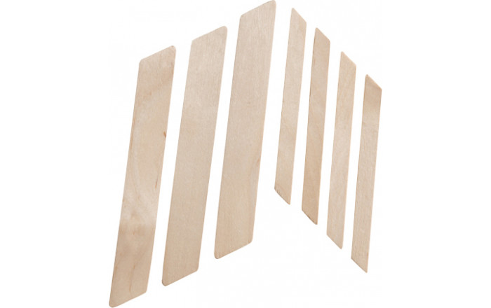 """4"""" Wood Applicators with Slanted Tips"""
